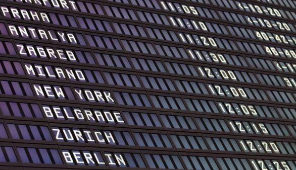 Flug nach Antalya