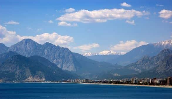 Geografie Antalyas