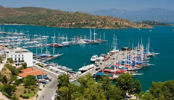 Der Hafen von Fethiye