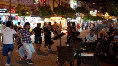 Das Nachtleben in Antalya